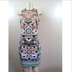Clover Canyon Diamond Quilt Neoprene Scuba Dress